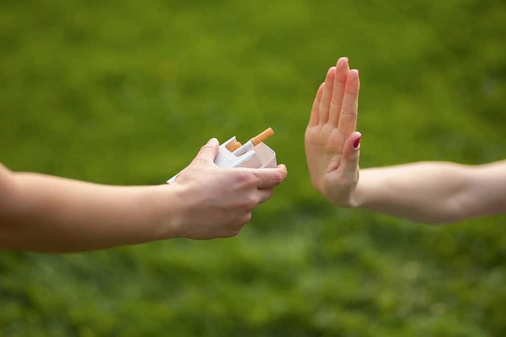 gyógynövénykészítmények dohányzása